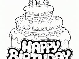 Small Picture Get This Online Birthday Cake Coloring Pages 61800