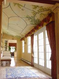 ceiling paint ideasDecorative Painting Ideas for a Tray Ceiling  Arteriors