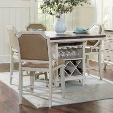Avalon Furniture Mystic Cay 5 Piece Kitchen Island Table Set Zaks