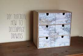 decoupage ideas for furniture. wonderful decoupage diy tutorial how to decoupage drawers or other wooden furniture inside decoupage ideas for furniture