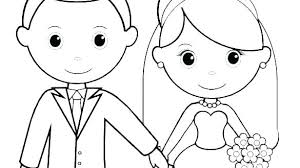 Coloring Pages Wedding Coloring Sheets Dress Pages Printable For