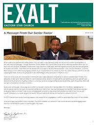 EXALT Winter 2018 by Eastern Star Church - issuu