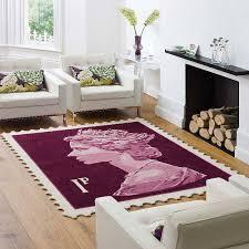 c fakepath stamp rugs purple splash