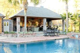 pool house with outdoor kitchen plans. Pool House Plans Charming With Outdoor Kitchen Ideas Best Idea Designs Garage