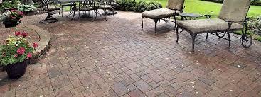 concrete patio cost brick patios