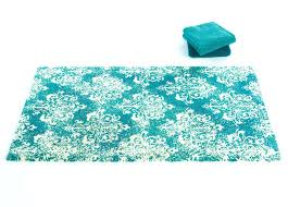 abyss bath rugs turquoise peacock blue pd habidecor rug abyss bath rugs