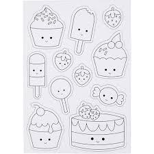 Creotime Magnetische Kleurplaten Ijsjes En Cupcakes 15x21 Cm Idee