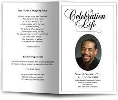 Sample Funeral Program Memorial Booklet Samples Funeral
