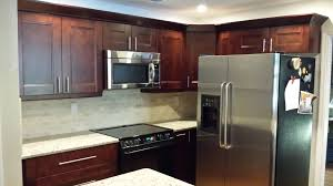 Dark Maple Kitchen Cabinets Trend Dark Maple Cabinets 52 With Additional With Dark Maple