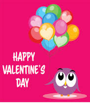 happy valentine s day clip art. Unique Happy Owl Character With Balloons Happy Valentines Day Clipart Size 125 Kb Inside Happy Valentine S Day Clip Art C