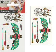 Tetovací Obtisky 105x6 Cm Lapač Snů