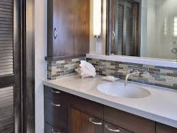 Brilliant Bathroom Sink Stunning Backsplash In Bathroom - Home ...
