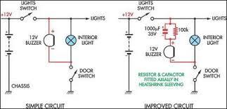simple headlight reminders eeweb community simple headlight reminders circuit diagram