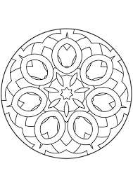Mandala Kleurplaten Mandala Mandala Coloring Pages Adult