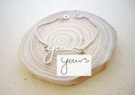 personalized handwriting jewelry is the sweetest new gift idea