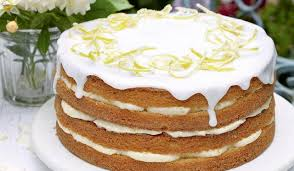 Whole Lemon Cake With Lemon Cheesecake Icing The Happy Foodie
