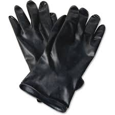 Butyl Glove Chemical Resistance Chart Honeywell International Inc Honeywell 11 Unsupported Butyl Gloves Chemical Protection Butyl Black Water Resistant Durable Chemical