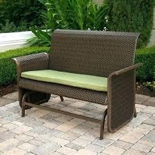 outdoor glider bench costco outdoor glider bench patio glider bench modern wicker glider bench patio furniture