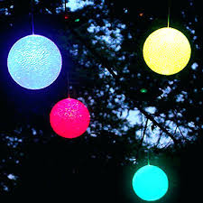 colored outdoor lights light color changing solar set of 20
