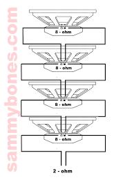 speaker wiring ohms speaker image wiring diagram speaker wiring ohms speaker auto wiring diagram schematic on speaker wiring ohms