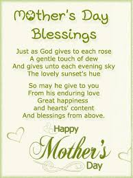 Blessing Quotes Beauteous Happy Mothers Day Blessing Prayers Quotes For All Mom 48 Happy