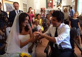 Caterina Balivo e Guido Maria Brera sposi