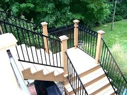 Backyard Deck Design Ideas Cool Decoration Outdoor Stairs Design Iron Backyard Wood Rs Patio Steps