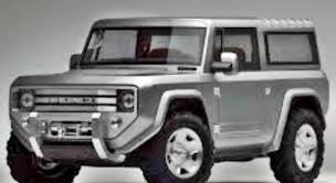2017 Ford Bronco Redesign; 2020 Expected Price In India