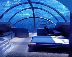 underwater hotel room at night. Poseidon Underwater Hotel Picture Room At Night