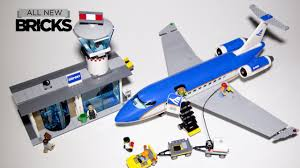 Lego City 60104 <b>Airport Passenger Terminal</b> Speed Build - YouTube