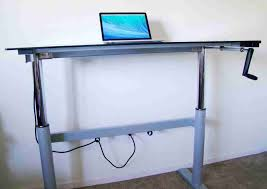 image of diy standing desk adjule ideas