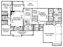 Ranch Style House Plans  Plan 157362200 Sq Ft House Plans