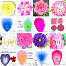Flowers Templates Easy Giant Paper Flowers Templates Tutorials Diy Flower Templates Large Paper Flowers The Art Of Giant Paper Flowers Ebook