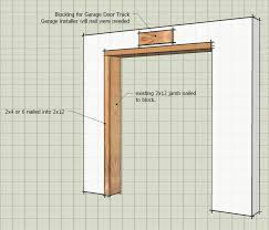 how to frame a garage doorICF Framing For Garage Door  Framing  Contractor Talk
