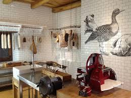 Restaurant Kitchen Tiles Meat Market By Radish I Love The Floor To Ceiling White Tiles