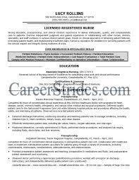 nursing cv template nurse resume examples sample registered sample nurses resume