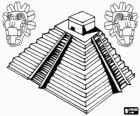 Small Picture Maya pyramid at Tikal Guatemala coloring page printable game