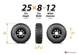 Tire Chart Meaning Atv Tire Size Meaning Atv Tech Help