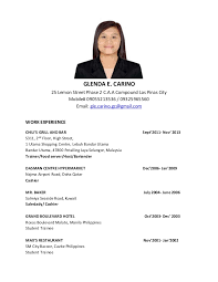 sample resume of sales lady gallery creawizard com