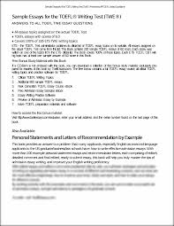 sample essays for the toefl writing test toeflessays com the this is the end of the preview sign up to access the rest of the document