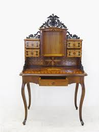 Image Furniture 1stdibs Historicism Desk Circa 1880 Made Of Walnut With Inlay Works