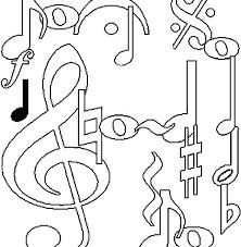 Coloring Page Music Sugarbucketinkcom