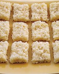 coconut bars