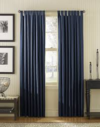 Bedroom Window Curtain Dark Blue And Brown Curtains
