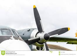 Airplane Turboprop Engine With Propeller Stock Photo - Image of ...