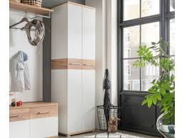 modern hallway furniture. germania contemporary topix hallway wardrobe in white matt u0026 light oak modern furniture y