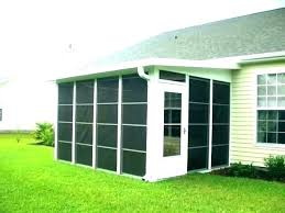 enclosed patio kit outdoor enclo patio enclosure walls screen porch kits luxury kit and sure screened