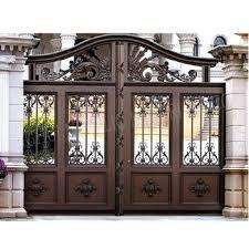 Fence Gate Design Metal Sliding Garden Fence Gate Iron Pipe Gate
