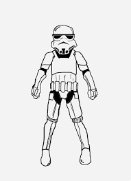 Stormtrooper Coloring Pages Cool Star Wars The Force Awakens Page