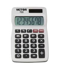 victor basic four function solar calculator set of  victor 700 basic four function solar calculator
